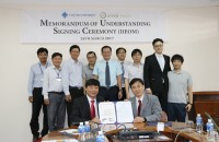 MoU Signing Ceremony between College of ICT and Jinotech Company, Korea