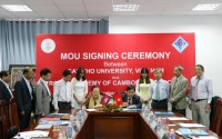MOU Signing Ceremony with Royal Academy of Cambodia